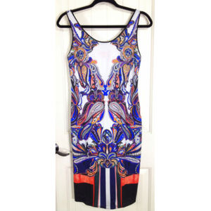 Clover Canyon Multicolor Owl Printed Bodycon Dress